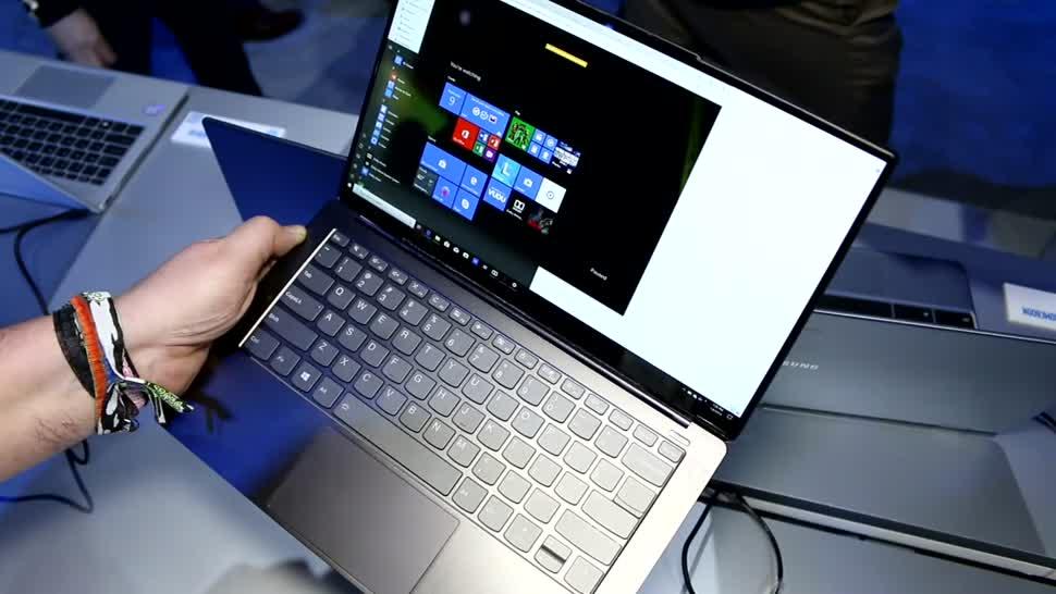 Lenovo, Ces, Hands on, Roland Quandt, CES 2019, Lenovo Yoga S940