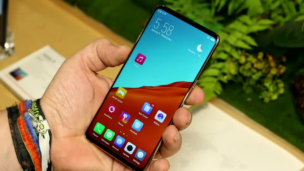 Smartphone, Display, Kamera, Ces, Zte, Roland Quandt, CES 2019, Nubia X