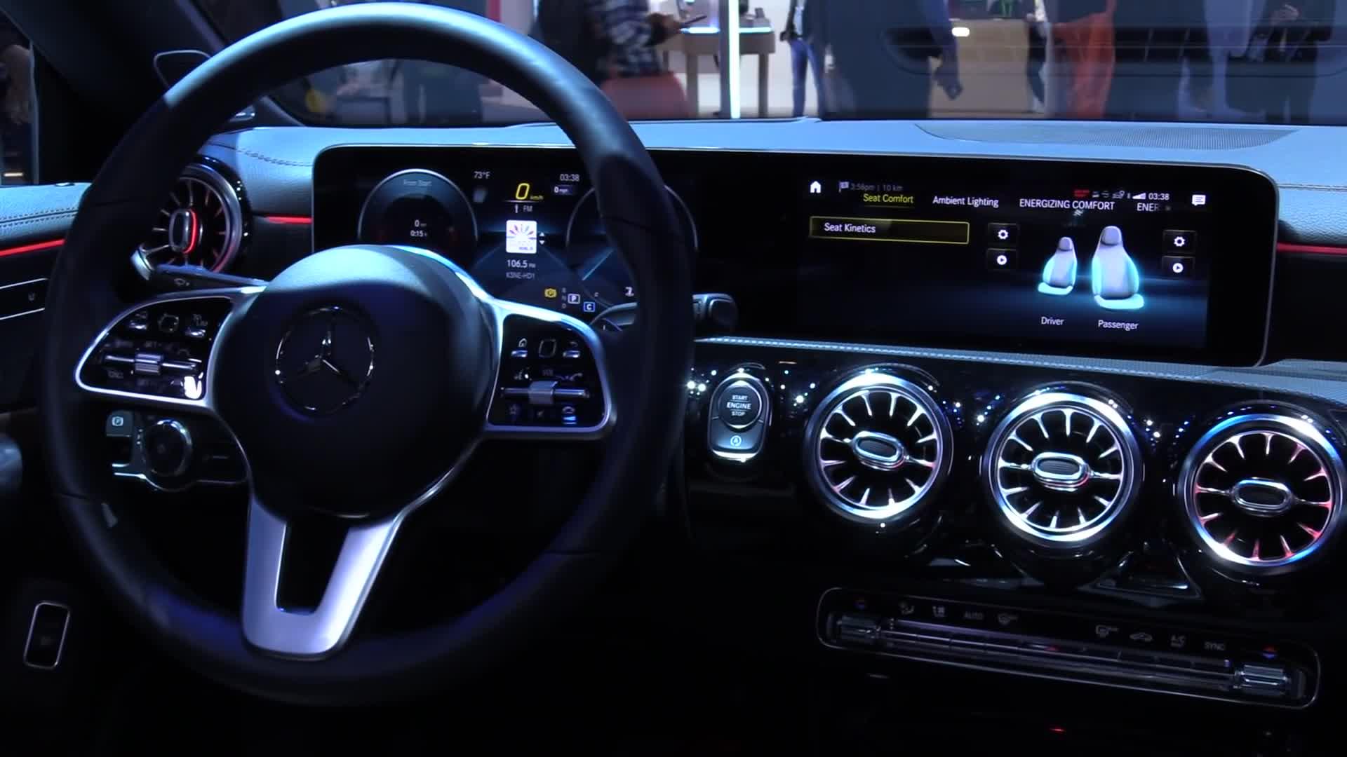 Ces, Sprachsteuerung, NewGadgets, Johannes Knapp, CES 2019, Mercedes Benz, Gestensteuerung, Mercedes, Infotainment, Gestenerkennung, Mercedes-Benz, MBUX, CLA 2019, Mercedes CLA 2019