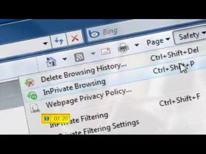 Microsoft, Windows, Browser, Internet Explorer, Internet Explorer 8, InPrivate Browsing
