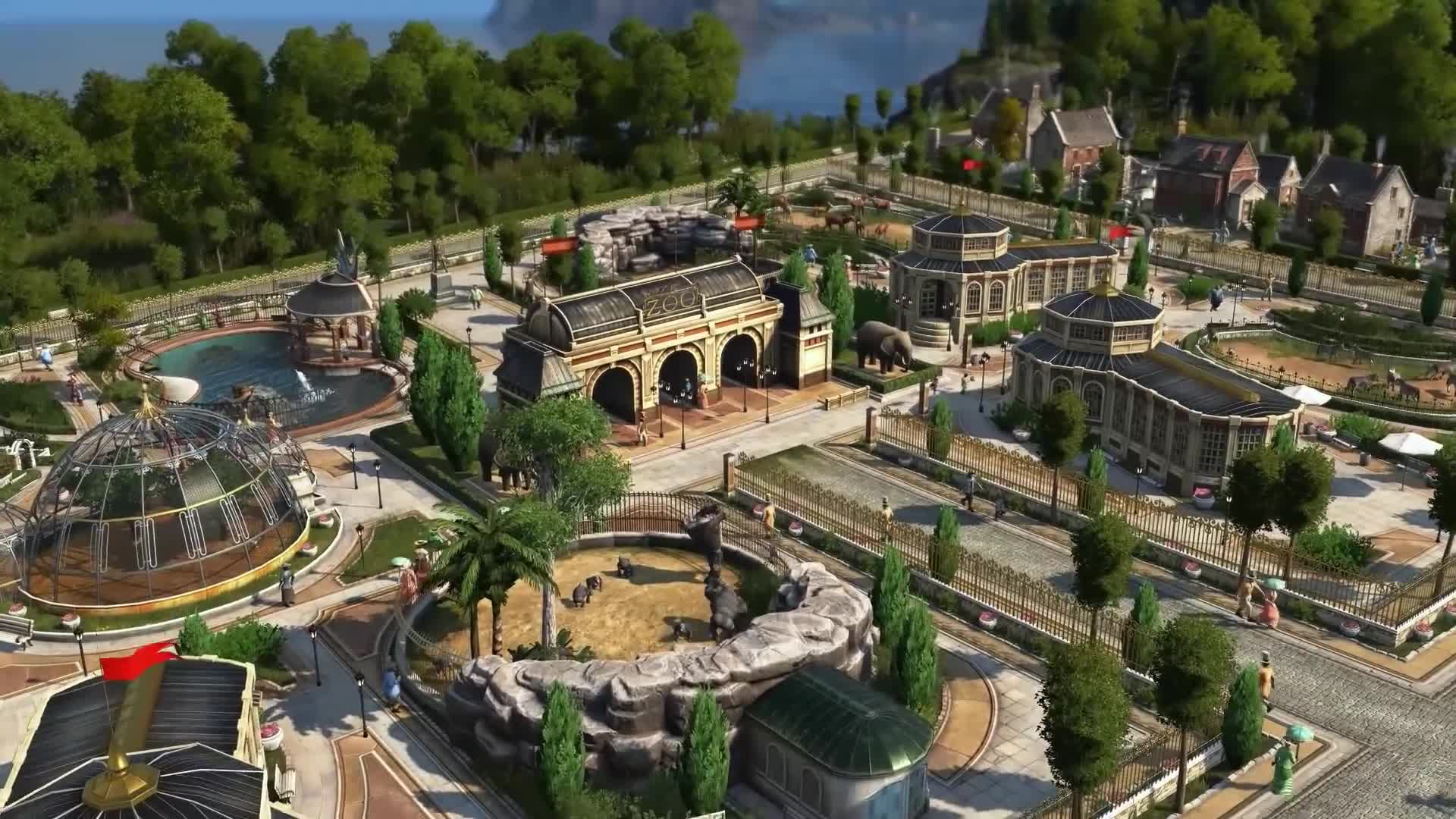 Trailer, Ubisoft, Strategiespiel, Blue Byte, Anno 1800, Closed Beta