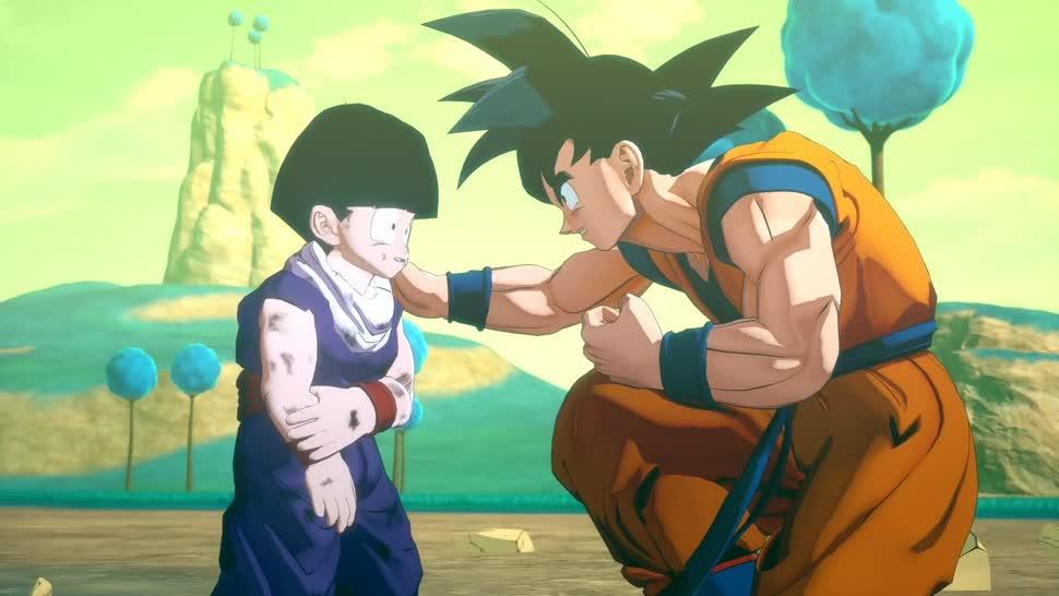 Trailer, Bandai Namco, Dragon Ball, Dragon Ball Z, Dragon Ball: Project Z, CyberConnect 2