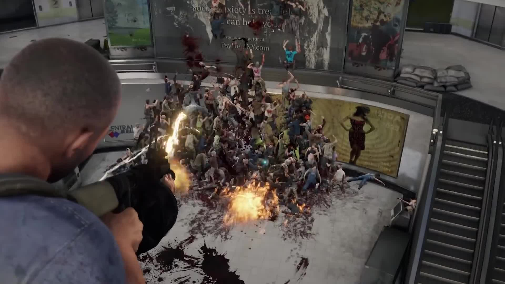 Trailer, Shooter, Zombies, World War Z, Saber Interactive