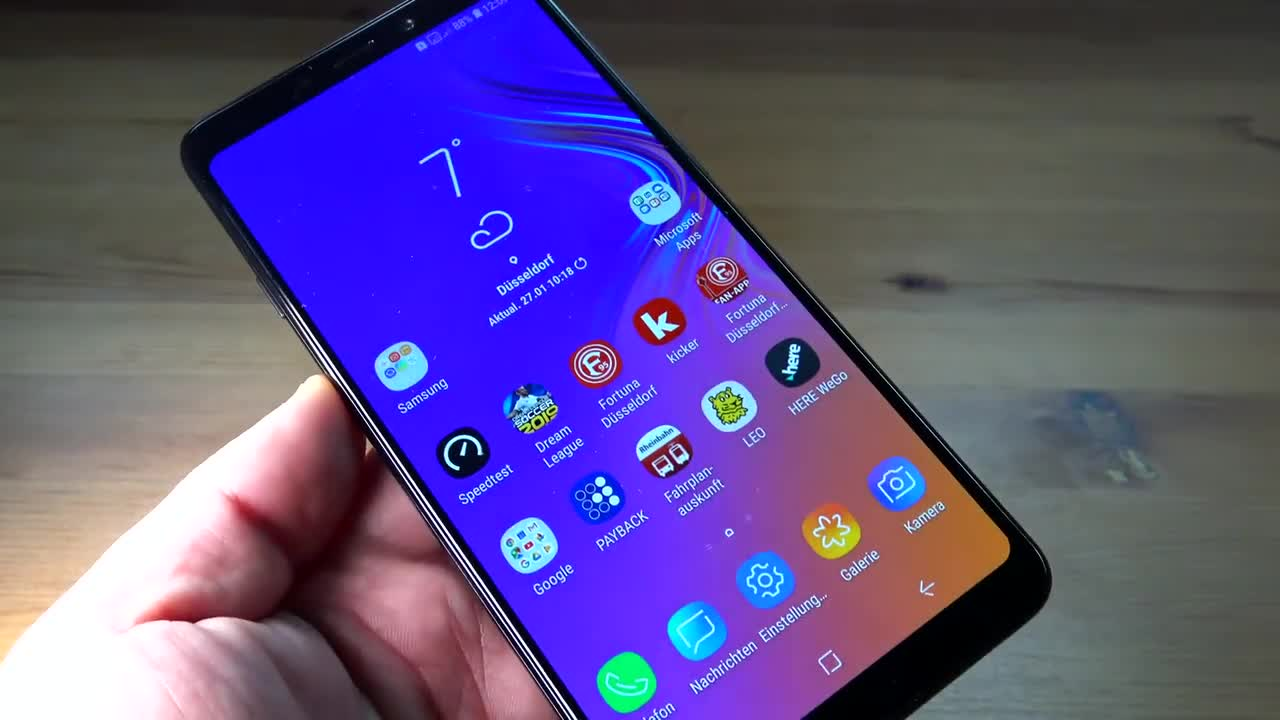 Smartphone, Android, Samsung, ValueTech, Samsung Electronics, Kameras, Galaxy A9