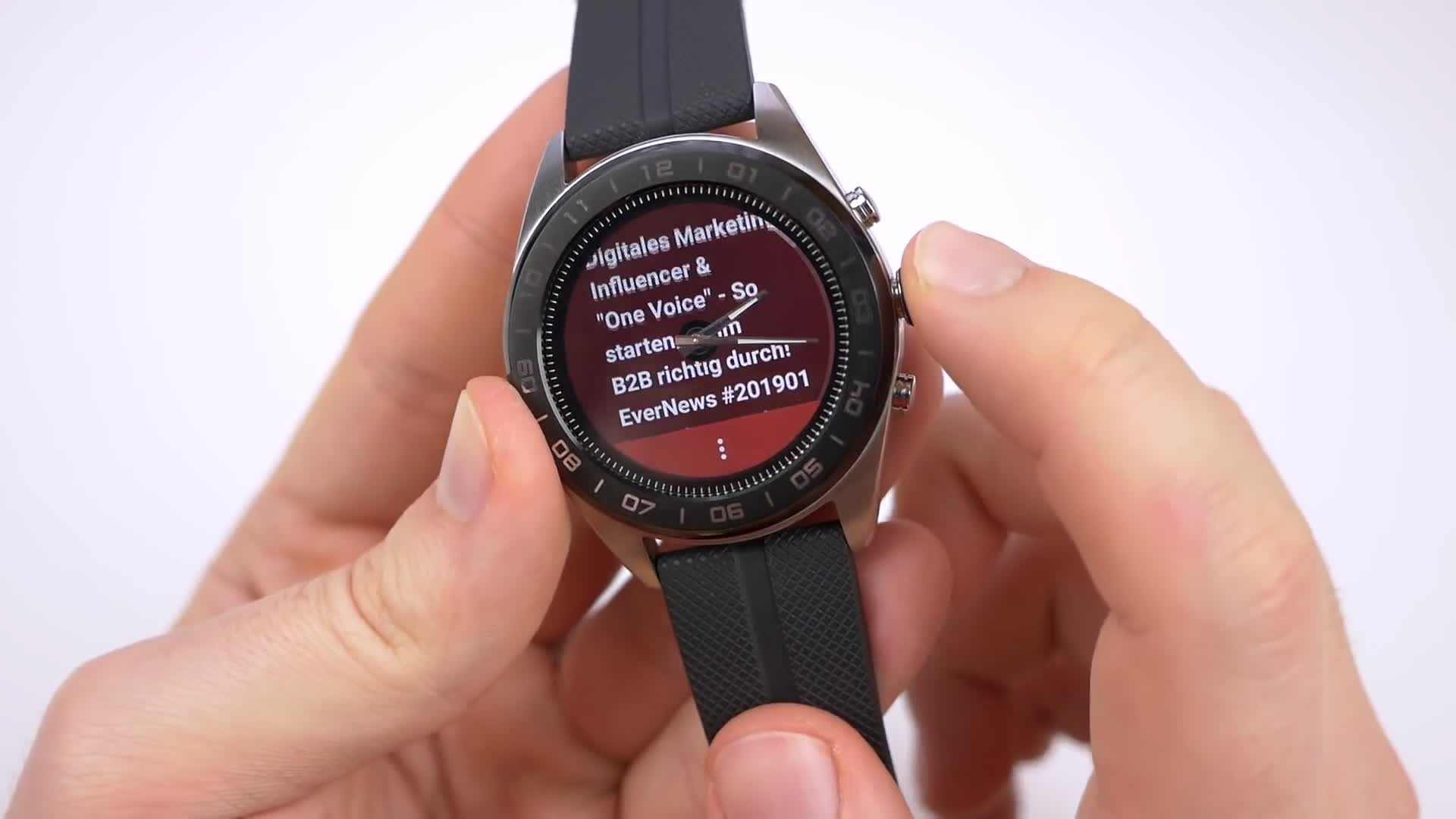 Test, smartwatch, Wearables, Android Wear, Daniil Matzkuhn, tblt, LG Watch, LG Watch W7, Watch W7