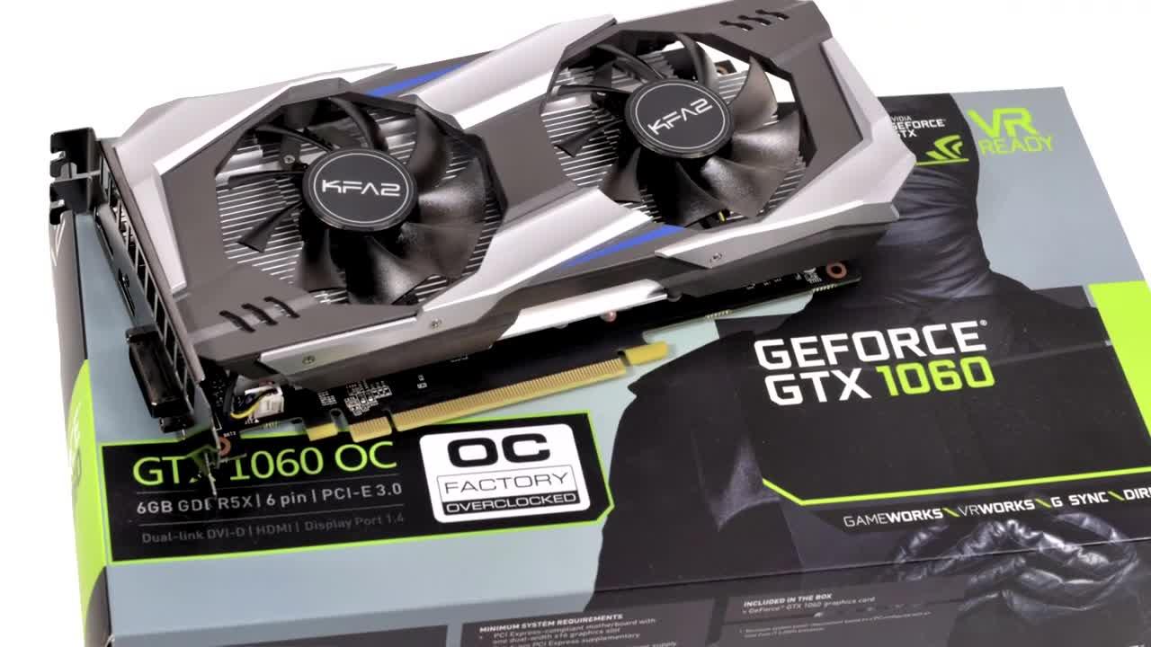 Nvidia, Grafikkarte, ValueTech, GTX 1060, GDDR5X, KFA2 GTX 1060 OC