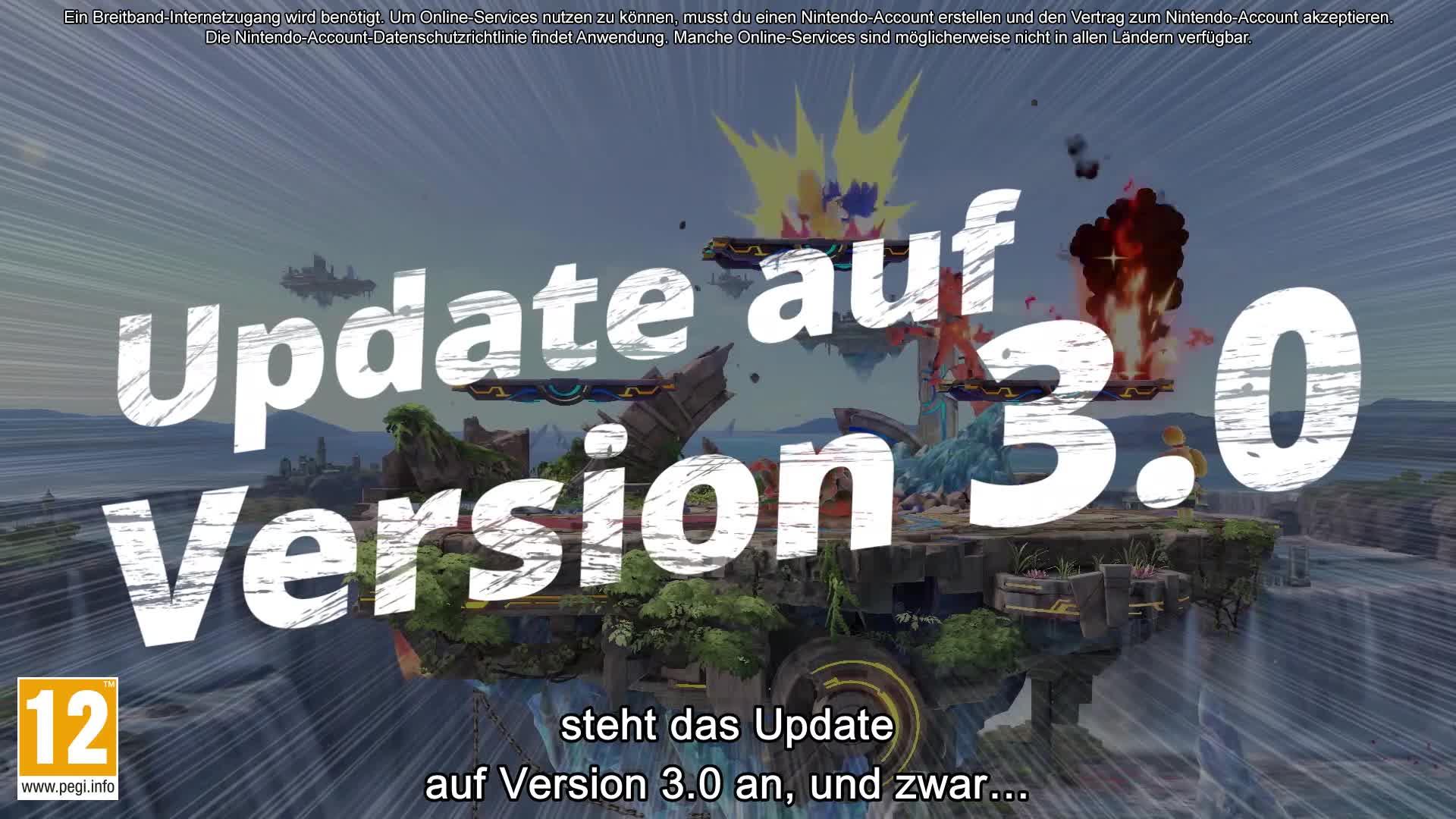 Update, Nintendo Switch, Switch, Ultimate, Super Smash Bros. Ultimate, Frühjahrs-Update