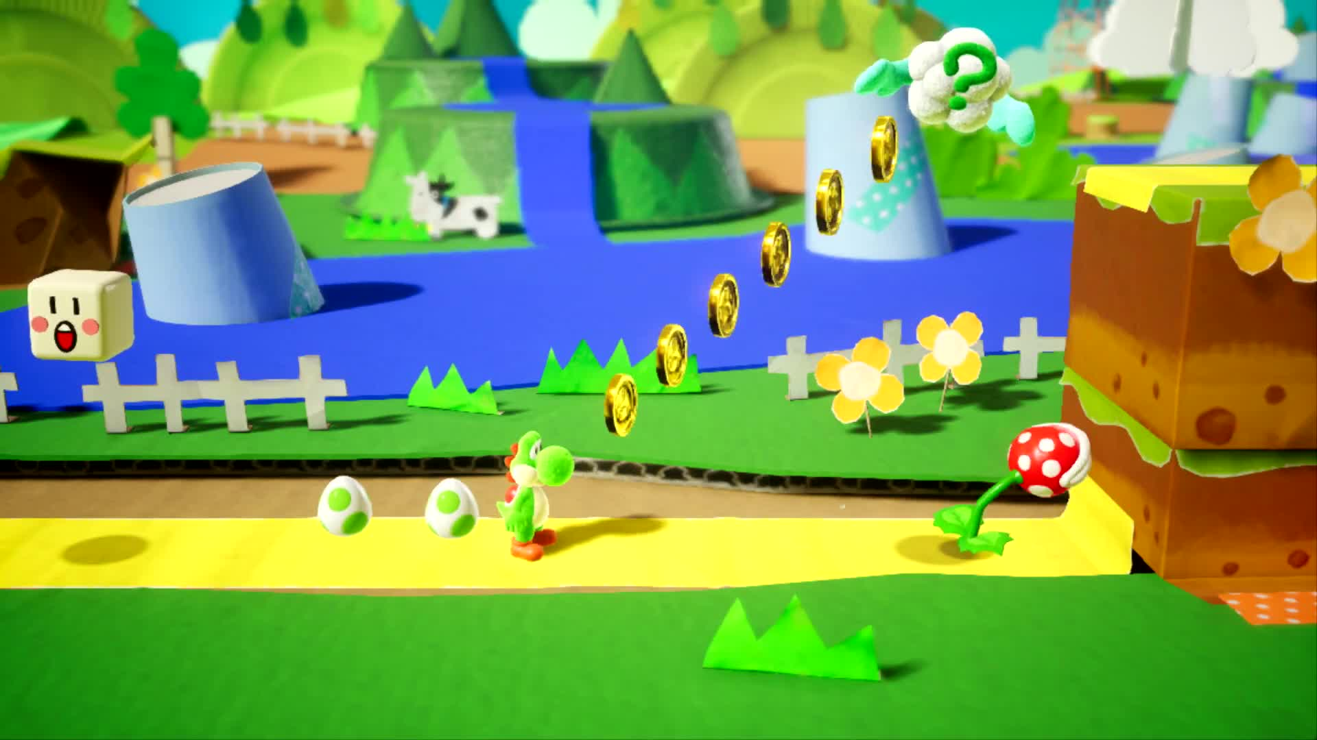 Trailer, Nintendo, Nintendo Switch, Switch, Demo, Jump & Run, Yoshi, Yoshi's Crafted World