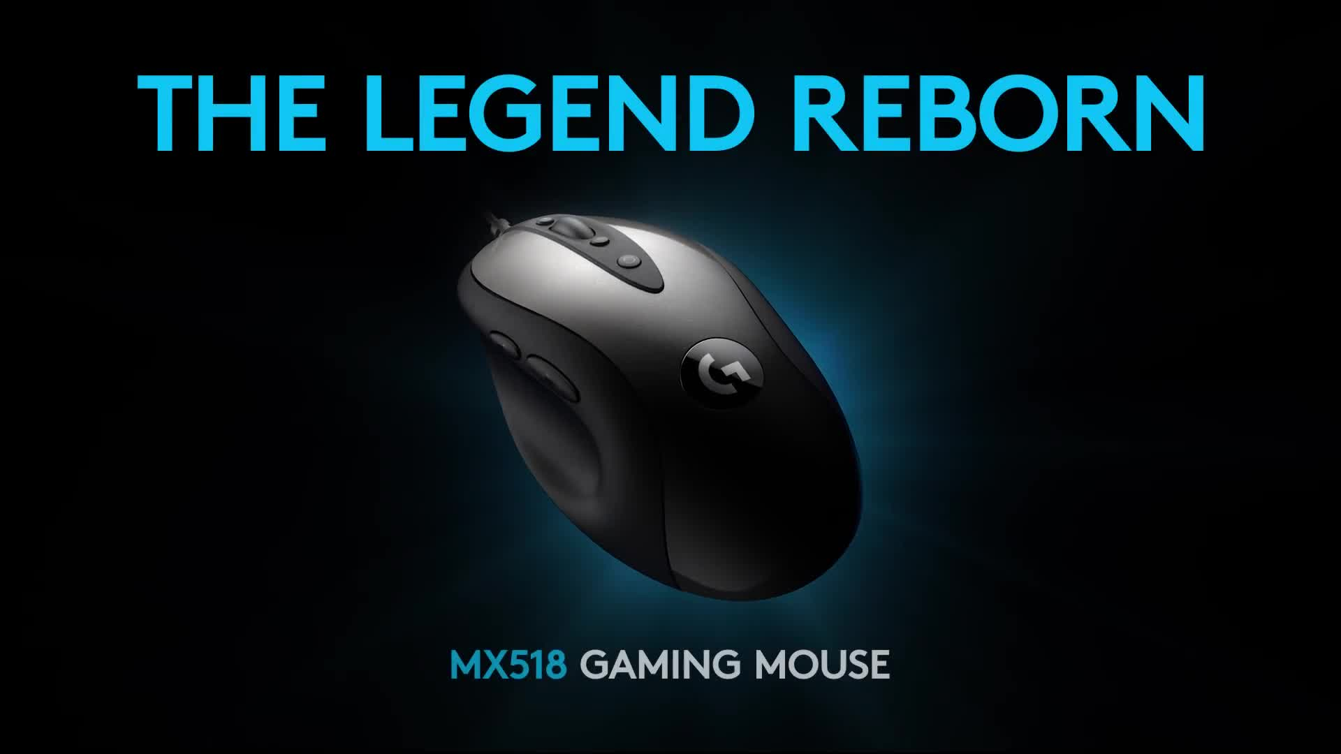 Maus, Logitech, Gaming-Maus, MX518, Logitech MX518