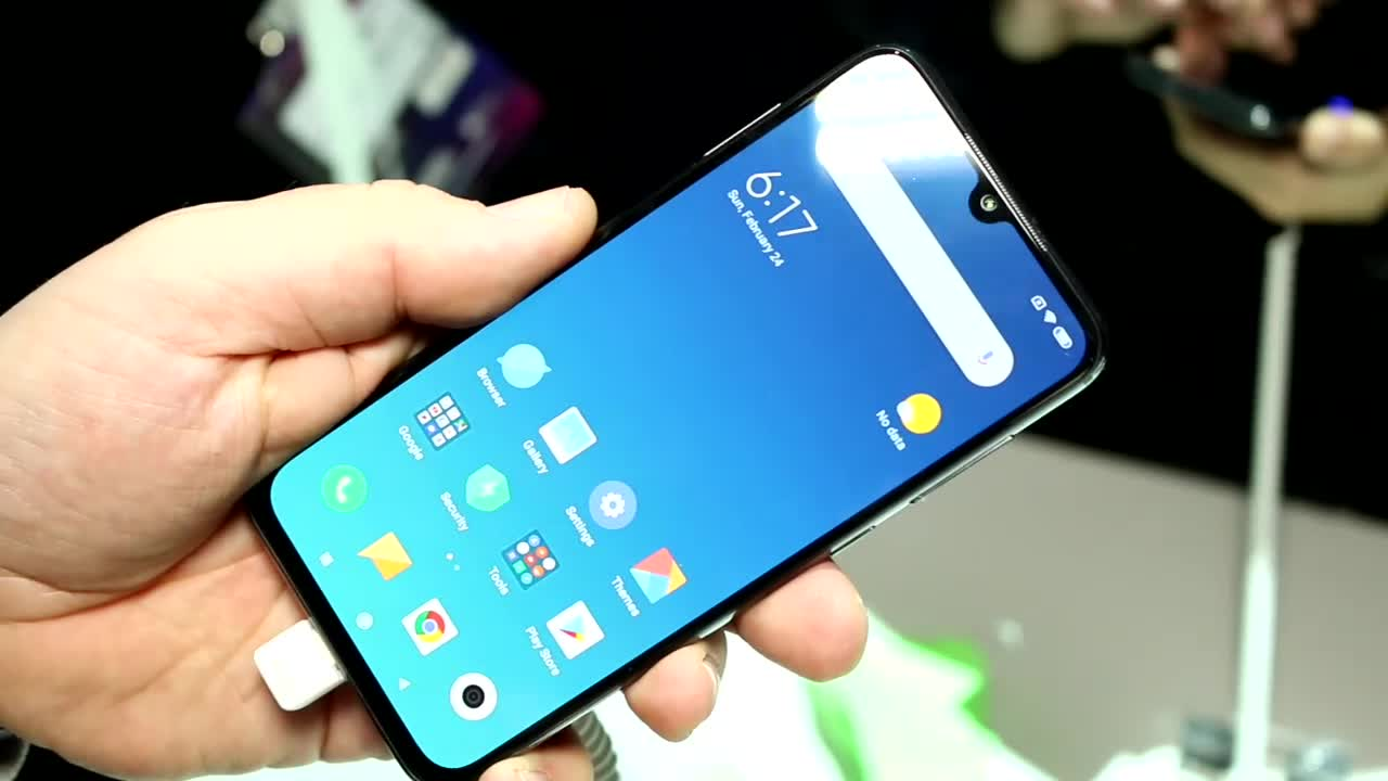 Smartphone, Hands-On, Mwc, Mobile World Congress, Xiaomi, MWC 2019, Roland Quandt, Xiaomi Mi9, Mi Mix 3, Mi9