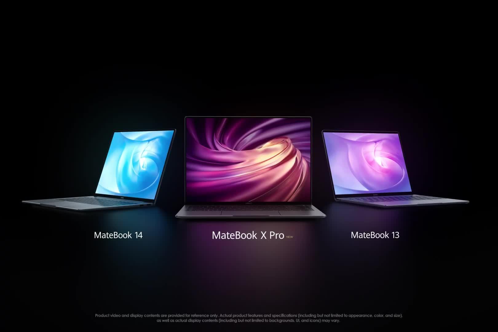 Notebook, Huawei, Laptop, Mwc, Mobile World Congress, MWC 2019, Mobile World Congress 2019, Huawei MateBook X Pro, MateBook X Pro, Huawei MateBook 13, Matebook 13, MateBook 14, Huawei MateBook 14