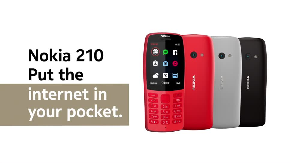 Nokia, Mwc, Mobile World Congress, MWC 2019, Mobile World Congress 2019, Feature Phone, Nokia 210