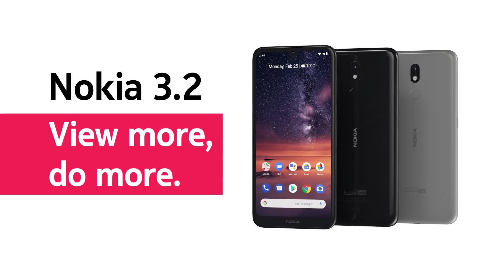 Smartphone, Nokia, Mwc, Mobile World Congress, MWC 2019, Mobile World Congress 2019, Nokia 3.2
