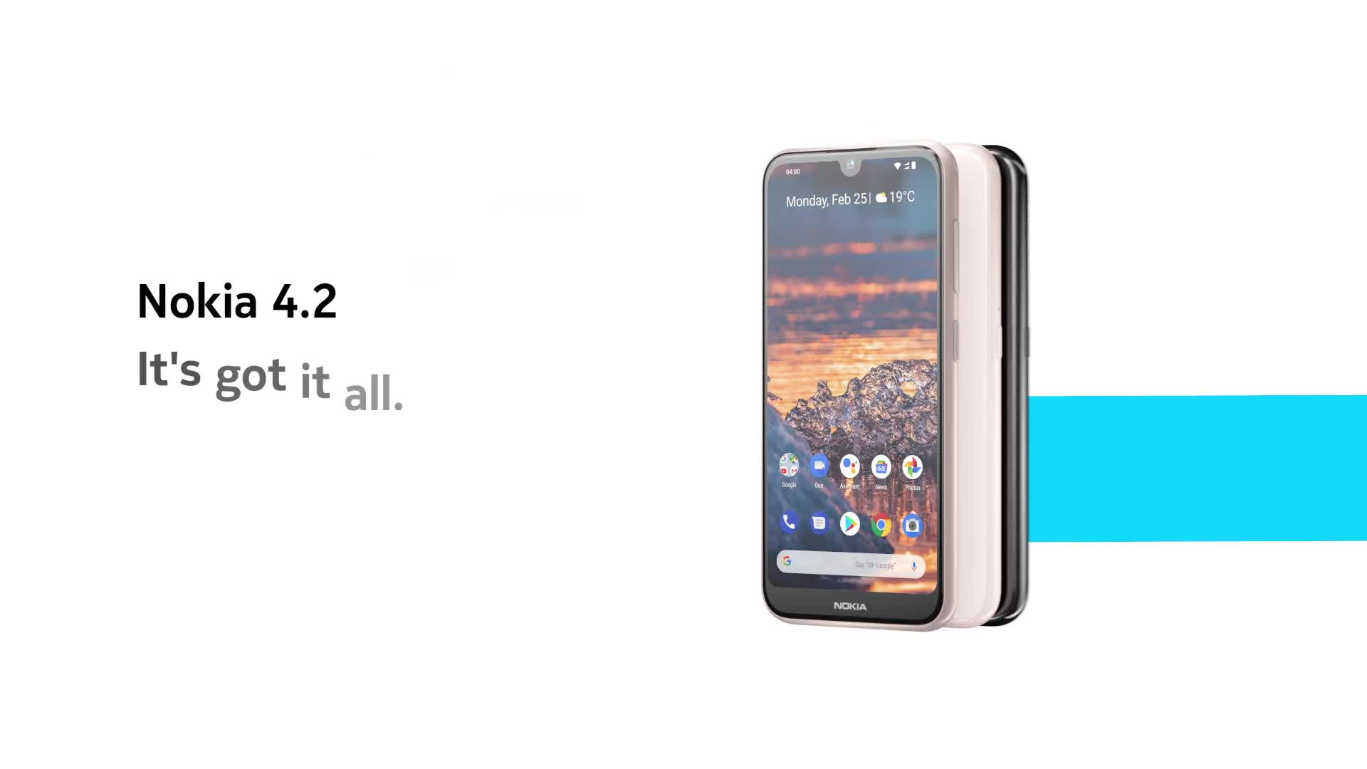 Smartphone, Nokia, Mwc, Mobile World Congress, MWC 2019, Mobile World Congress 2019, Nokia 4.2