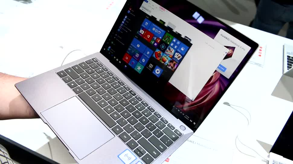 Huawei, Hands-On, Mwc, Mobile World Congress, Roland Quandt, MWC 2019, MateBook X Pro