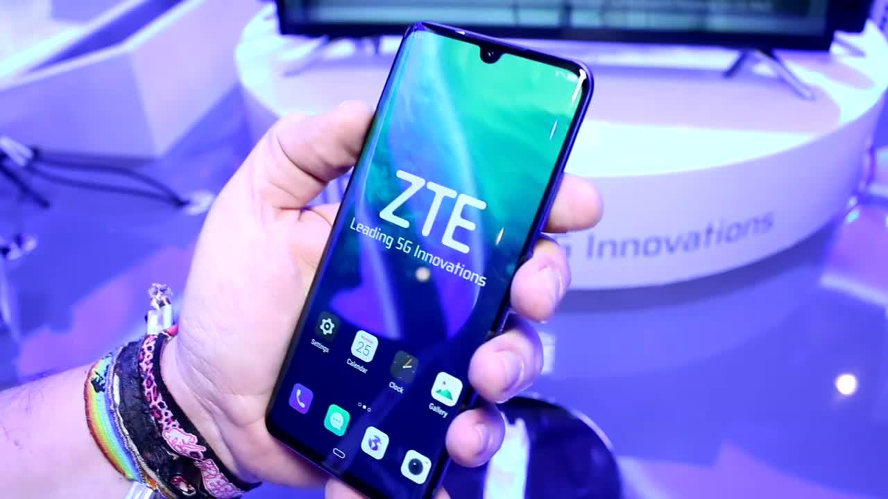 Smartphone, Android, Mobilfunk, Mwc, Mobile World Congress, 5G, Zte, MWC 2019, Roland Quandt, Axon 10 Pro 5G