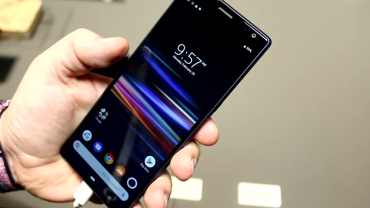Smartphone, Android, Sony, Mwc, MWC 2019, Roland Quandt, Mittelklasse, Sony Xperia 10 Plus, Xperia 10 Plus