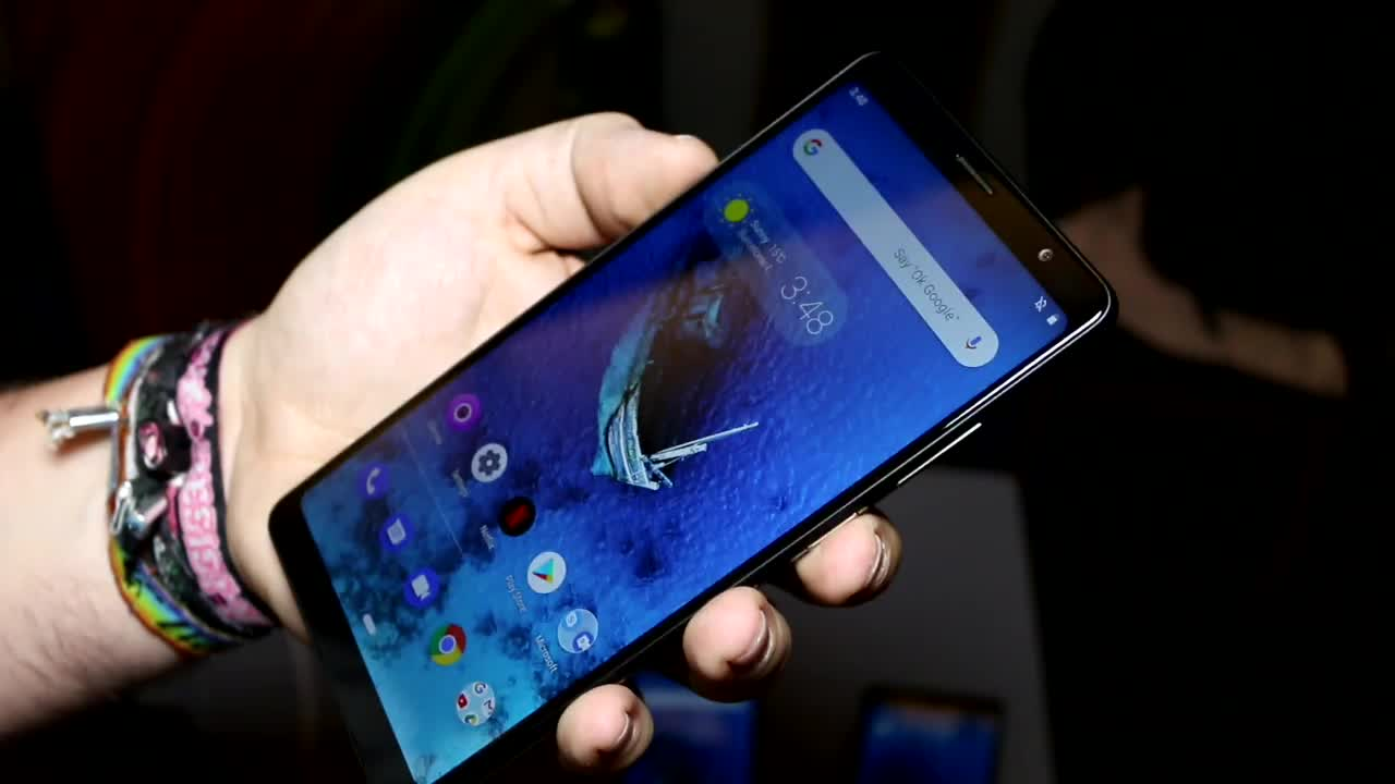 Smartphone, Android, Lenovo, Mwc, Phablet, MWC 2019, Roland Quandt, Tab V7