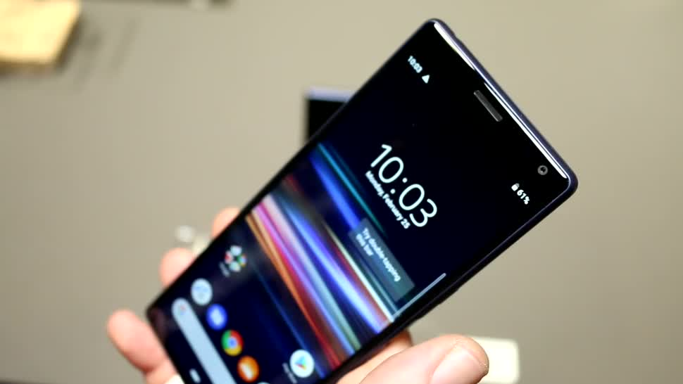Smartphone, Android, Sony, Mwc, Mobile World Congress, MWC 2019, Roland Quandt, Xperia 10