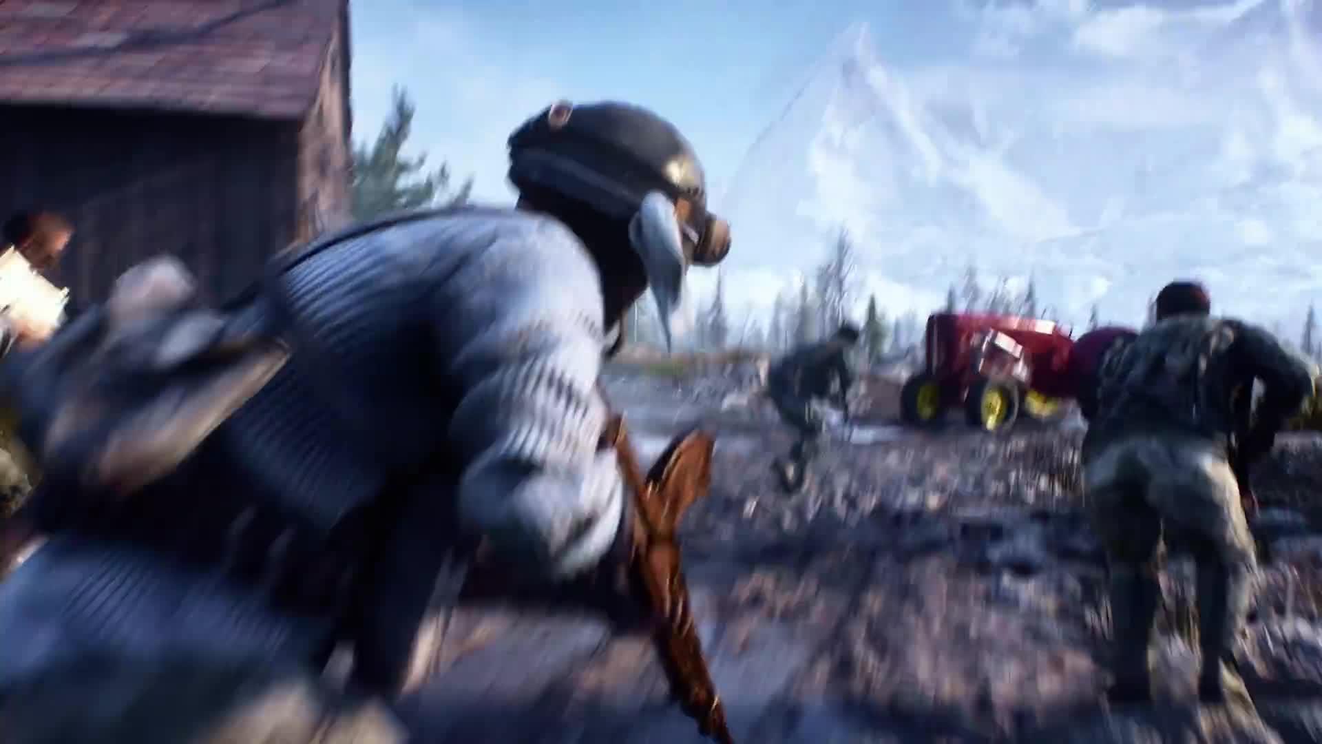 Trailer, Electronic Arts, Ego-Shooter, Ea, Battlefield, Dice, Battlefield 5, Battle Royale, Battlefield V, Feuersturm, Firestorm