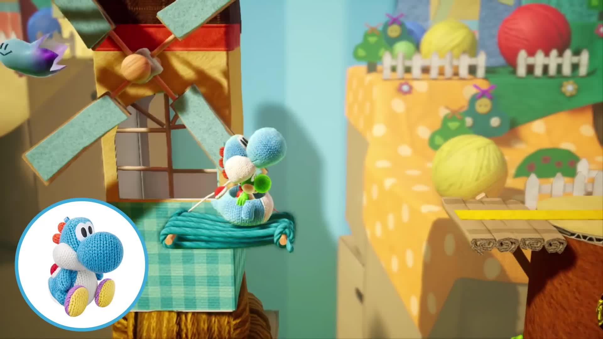 Trailer, Spiel, Nintendo, Nintendo Switch, Switch, Videospiele, Yoshi, Yoshi's Crafted World