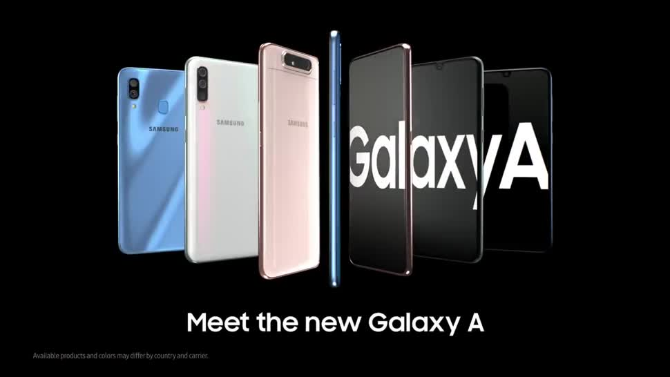 Smartphone, Android, Samsung, Kamera, Triple-Cam, Promotion, Galaxy A80