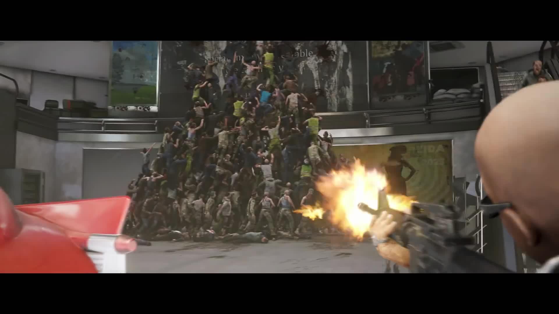 Trailer, Shooter, Zombies, World War Z, Saber Interactive