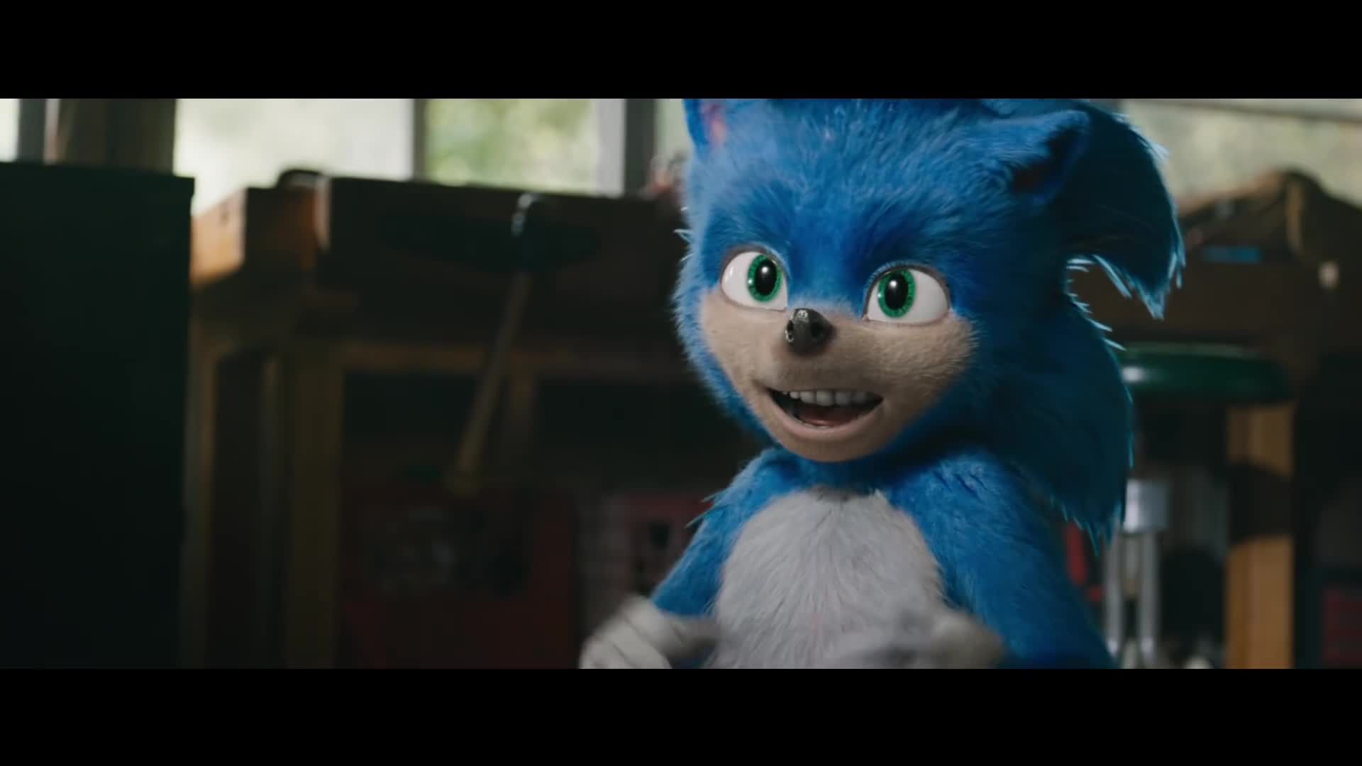 Trailer, Kinofilm, Kino, Paramount Pictures, Sonic, Paramount, Sonic The Hedgehog