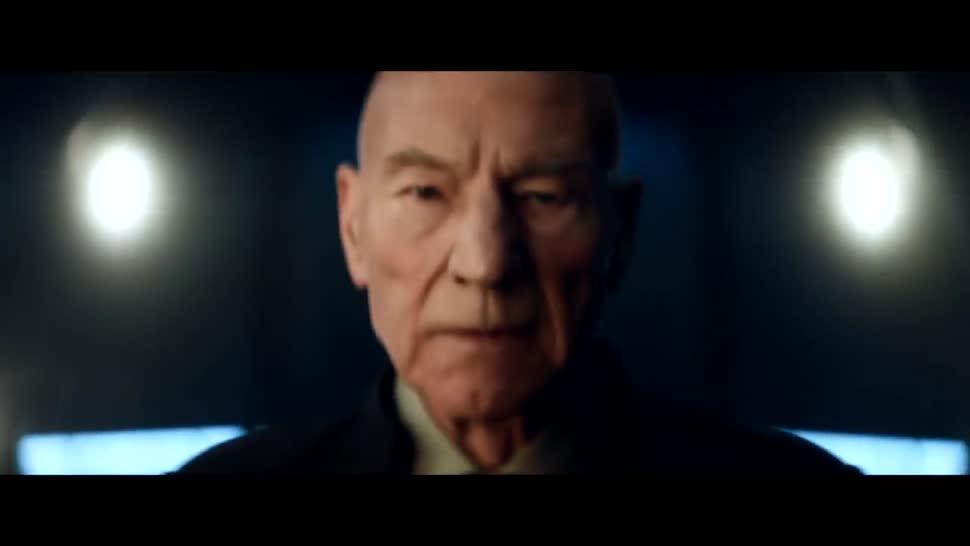 Trailer, Streaming, Video, Serie, Teaser, Amazon Prime, Star Trek, Ankündigung, Cbs, Jean Luc Picard, Patrick Stewart, Star Trek:Picard, Picard