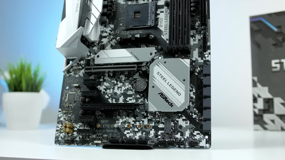 Test, Zenchilli, Zenchillis Hardware Reviews, Mainboard, Motherboard, ASRock, ASRock B450 Steel Legend, ASRock B450, B450 Steel Legend, B450