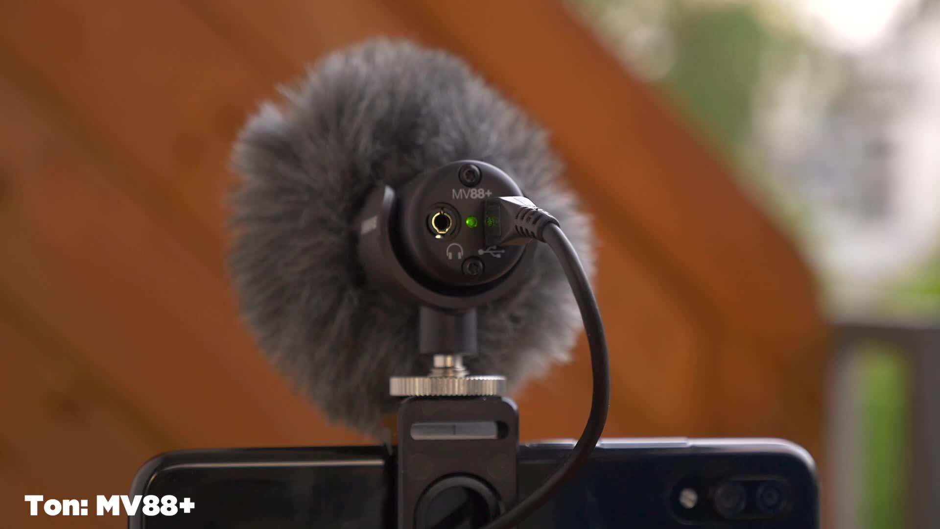 Smartphone, Video, Timm Mohn, Mikrofon, Shure, MV88+