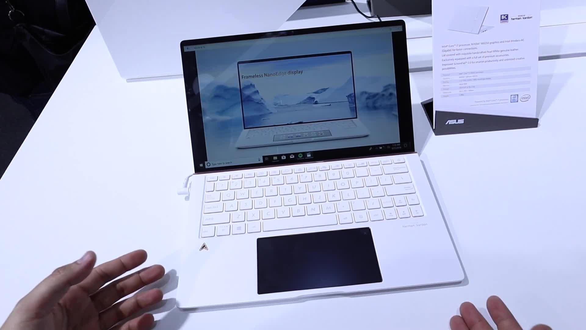 Asus, Computex, NewGadgets, Johannes Knapp, Computex 2019, Asus Zenbook, Asus ZenBook Edition 30, ZenBook Edition 30