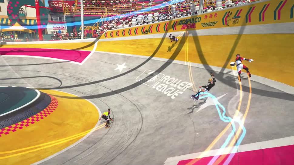 Trailer, Ubisoft, E3, Online-Spiele, E3 2019, F2P, Sportspiel, free2play, Roller Champions