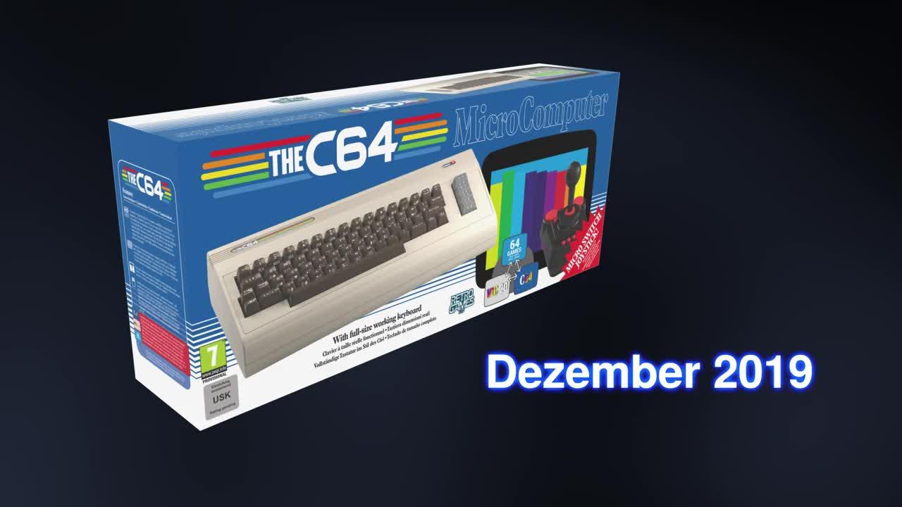 C64 kommt zurück, in Originalgröße und mit funktionierender ...