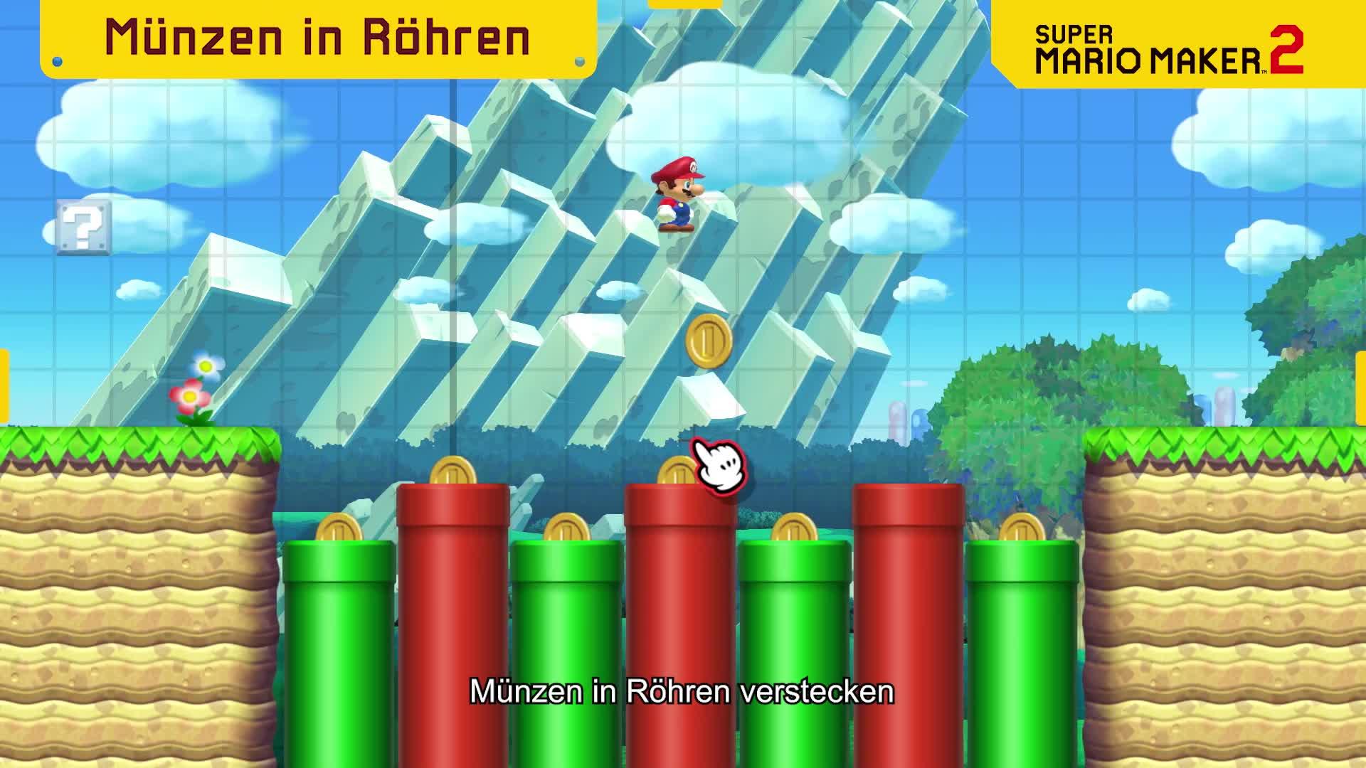 Trailer, Nintendo, Nintendo Switch, Mario Maker, Super Mario Maker, Super Mario Maker 2