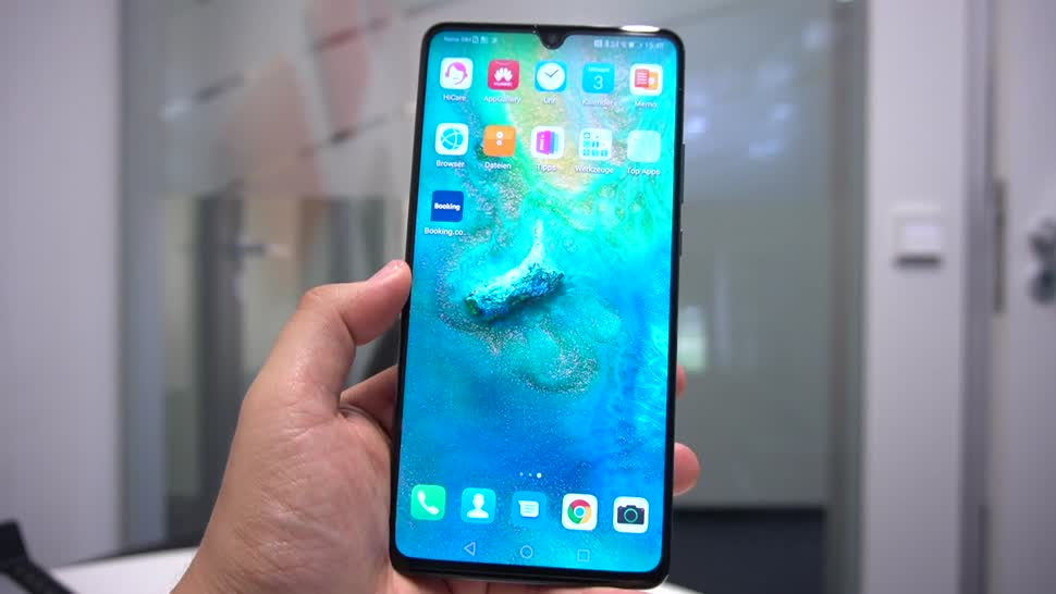 Smartphone, Android, Huawei, Hands-On, 5G, NewGadgets, Johannes Knapp, Huawei Mate 20, Huawei Mate, Huawei Mate 20 X, Huawei Mate 20 X 5G, Mate 20 X 5G