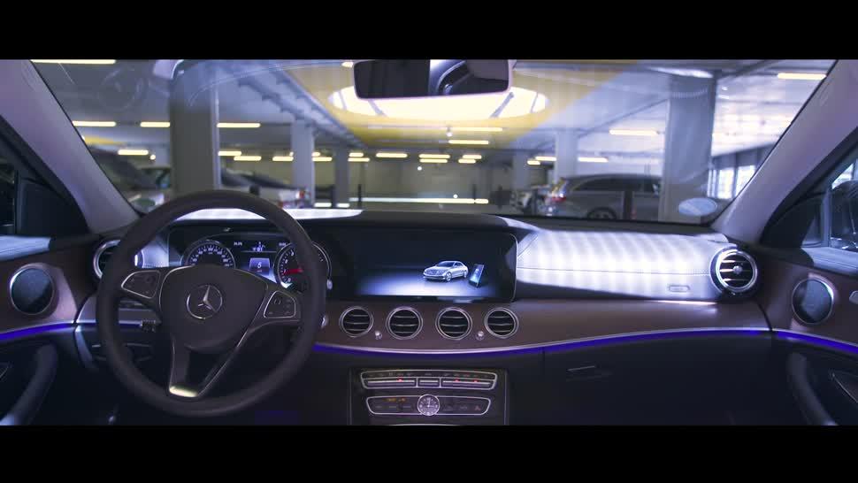 Selbstfahrendes Auto, Autonomes Auto, Selbstfahrend, Mercedes Benz, Daimler, Mercedes, autonomes Fahren, Selbstfahrende Autos, Fahrerlos, Parkhaus