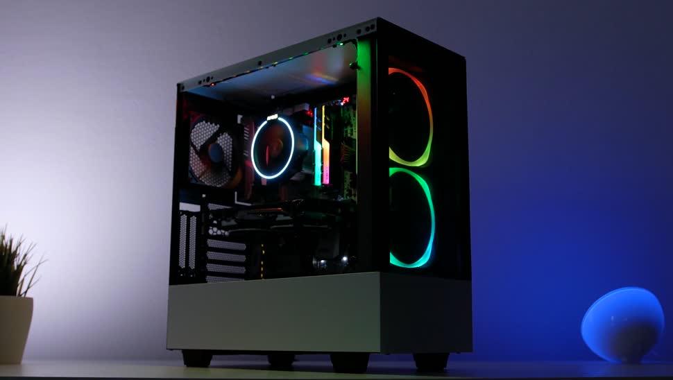 Test, Zenchilli, Zenchillis Hardware Reviews, Gehäuse, Tower, PC-Gehäuse, NZXT, NZXT H510 Elite, NZXT H510, H510 Elite, H510