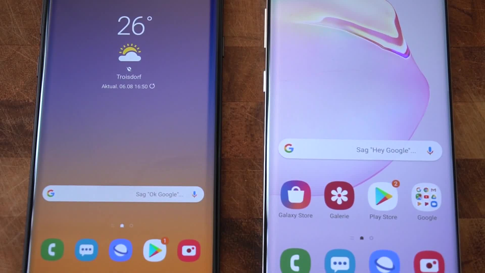 Android, Samsung, Hands-On, Samsung Mobile, NewGadgets, Johannes Knapp, Samsung Galaxy Note 10, Galaxy Note 10, Samsung Galaxy Note 10 Plus, Samsung Galaxy Note 10+