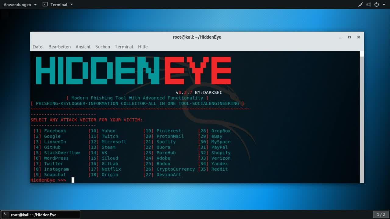 Sicherheit, Security, Social Media, SemperVideo, Account, Hidden Eye