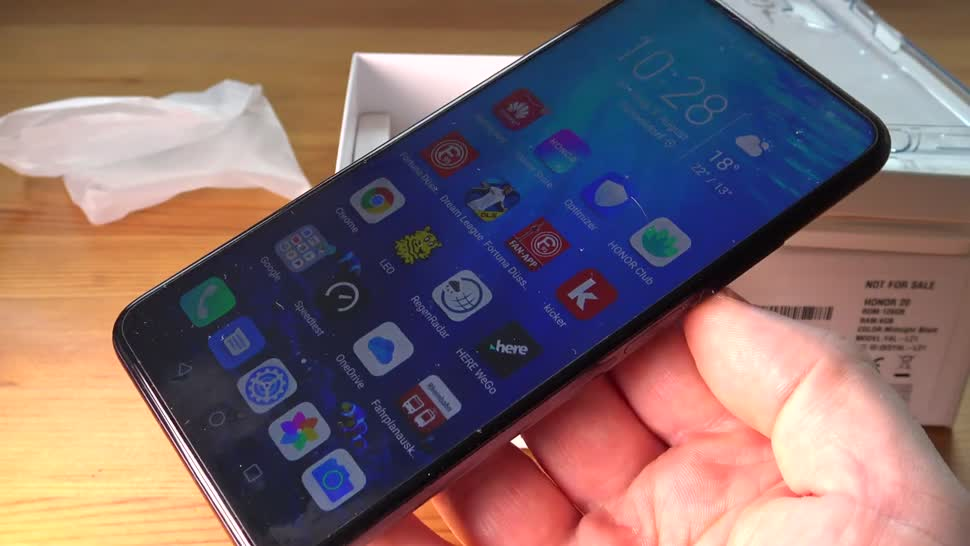 Smartphone, Android, Huawei, ValueTech, Honor 20 Pro