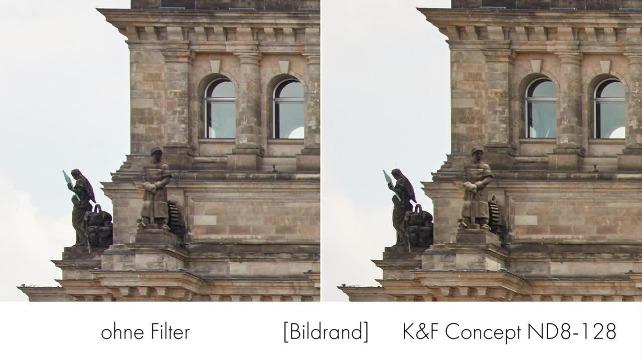 Video, ValueTech, Fotografie, Filter, K&F Concept, ND8-128 HD