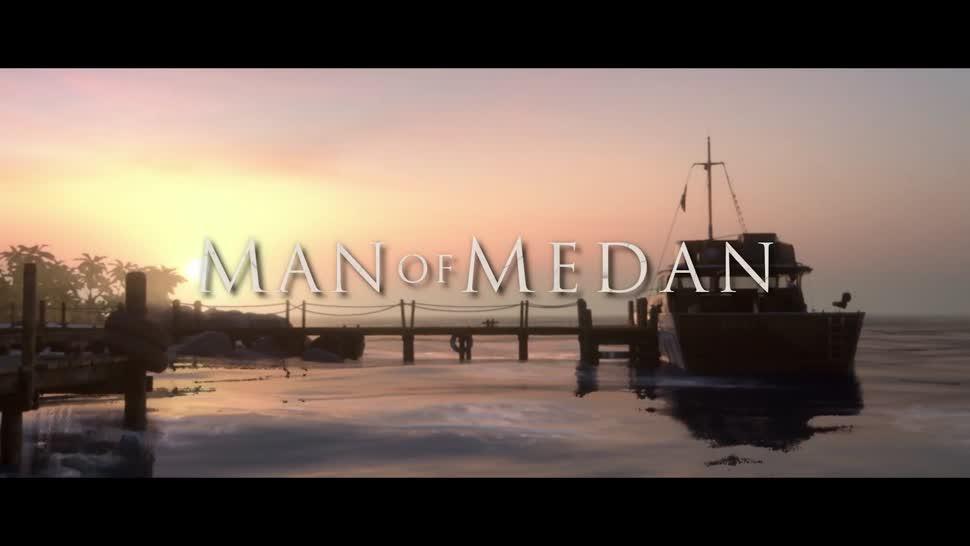 Trailer, Adventure, Survival Horror, Horror, Bandai Namco, The Dark Pictures, Man of Medan, Supermassive Games, The Dark Pictures: Man of Medan