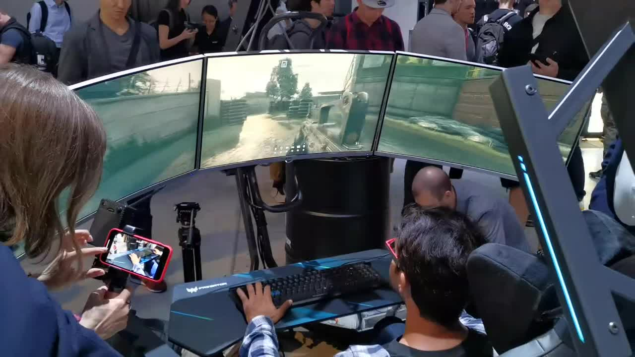 Gaming, Test, Hands-On, Ifa, Acer, Hands on, Review, IFA 2019, Acer Predator, Gaming Hardware, Extrem, Triple-Monitor-Setup