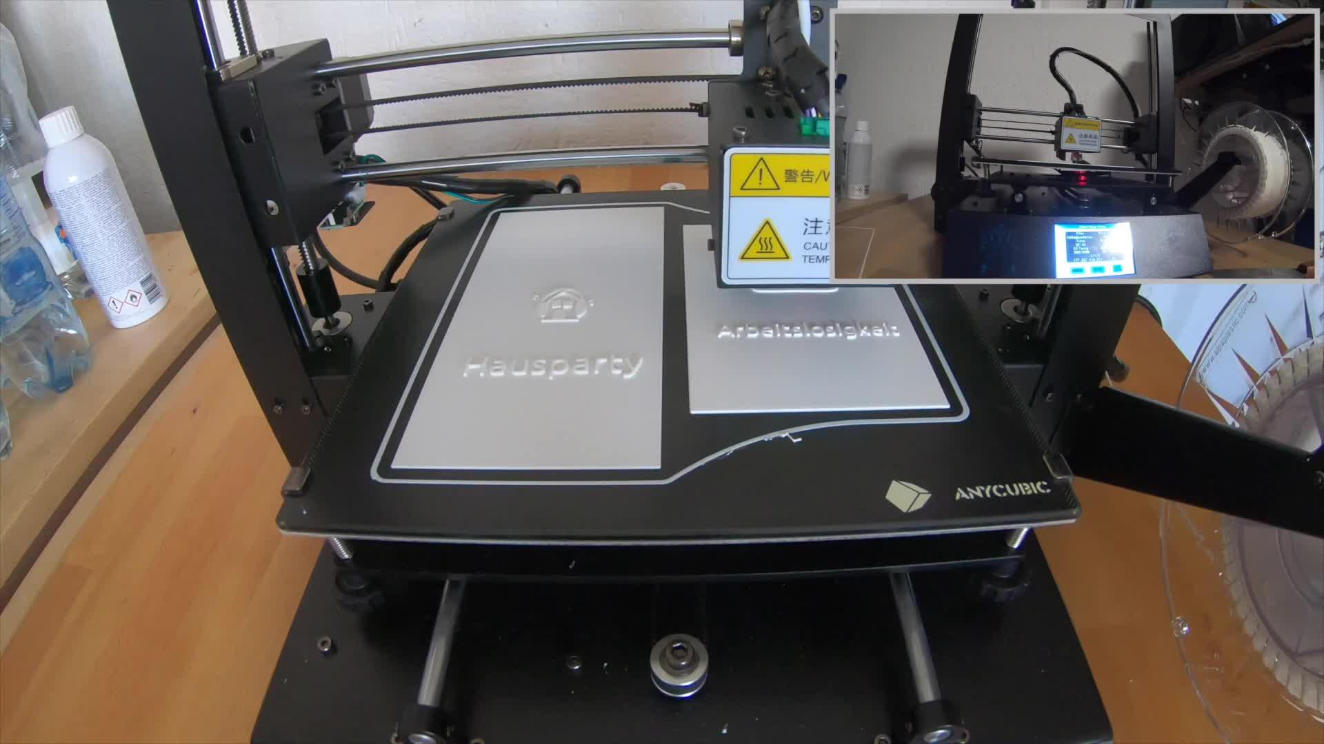 Test, 3D-Drucker, Timm Mohn, Anycubic, i3 Mega S