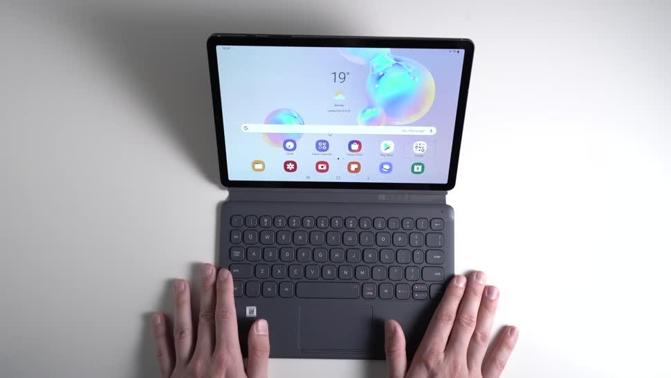 Android, Tablet, Samsung, Galaxy, Samsung Galaxy, Andrzej Tokarski, Tabletblog, Samsung Mobile, Tastatur-Cover, Samsung Galaxy Tab S6, Galaxy Tab S6, Book Cover Keyboard