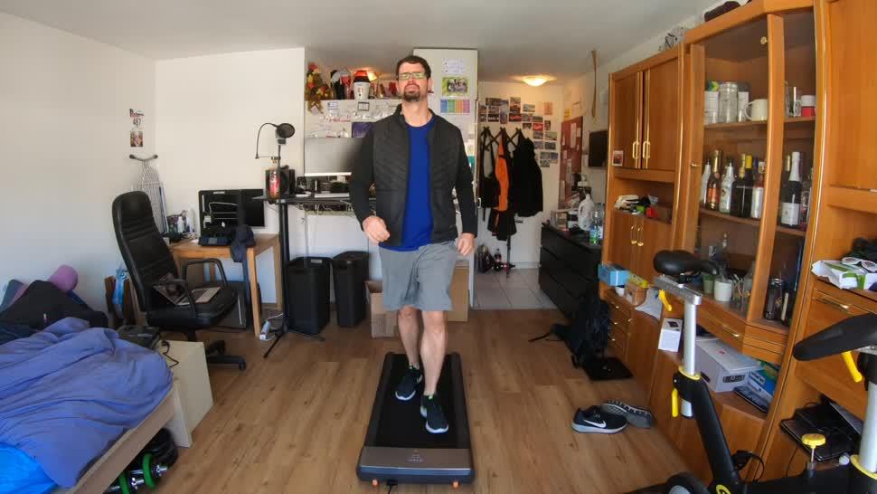 Fitness, Timm Mohn, Laufband, Walkingpad, KingSmith