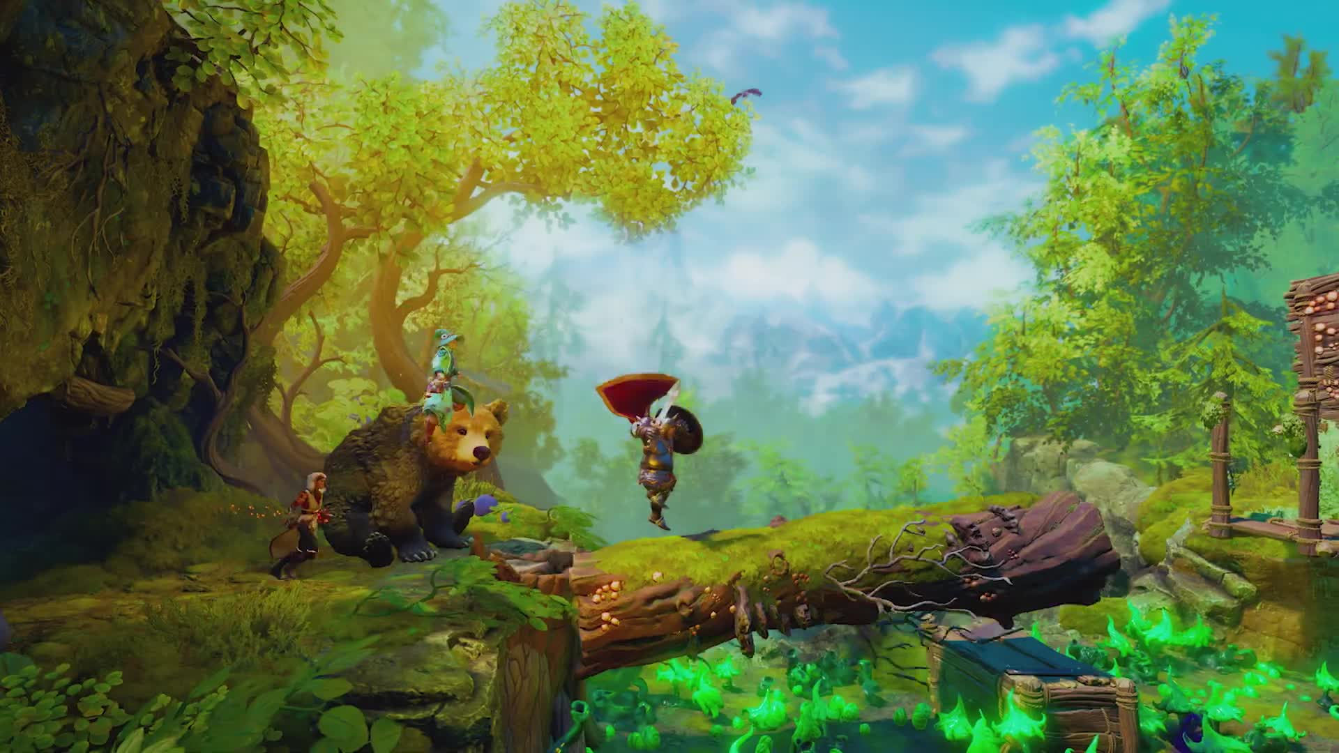 Trailer, Trine, Frozenbyte Games, Trine 4, The Nightmare Prince