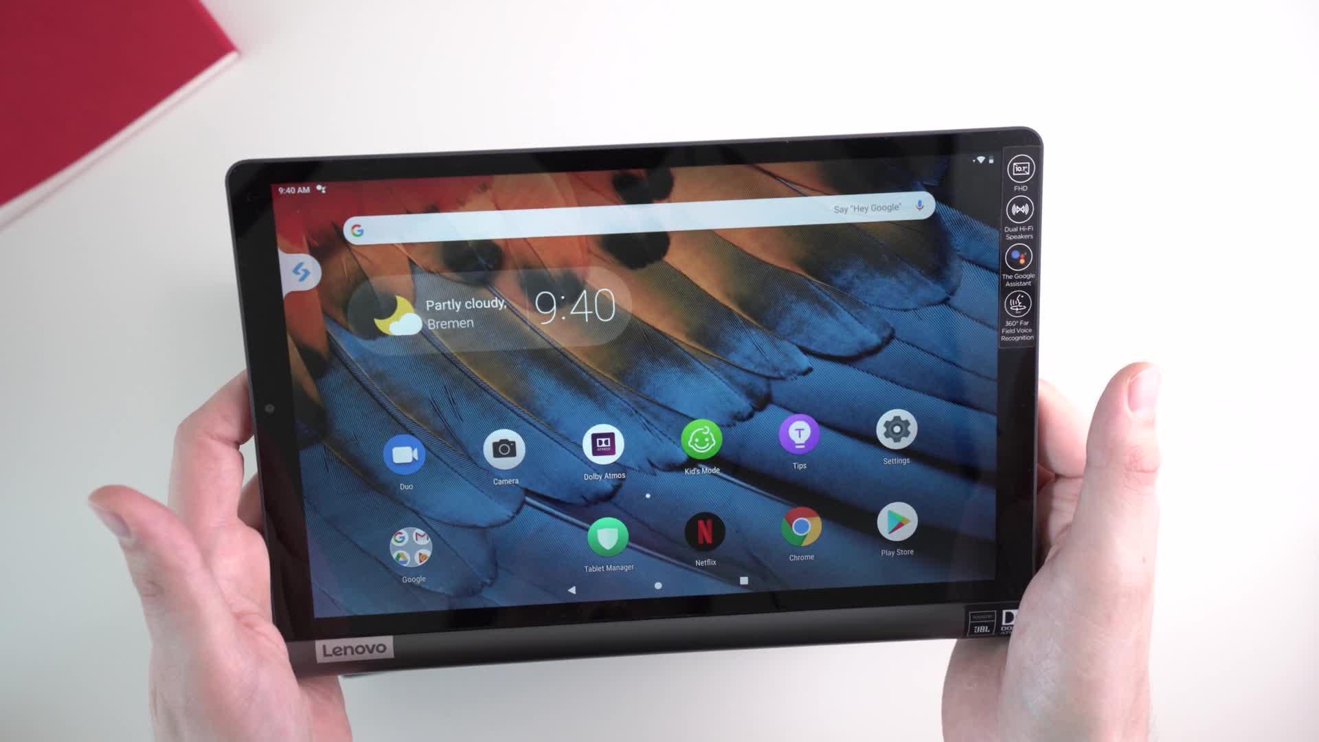Android, Tablet, Lenovo, Andrzej Tokarski, Tabletblog, Unboxing, Lenovo Yoga, Android 9, Smart Tab, Lenovo Yoga Smart Tab, Lenovo Yoga Smart