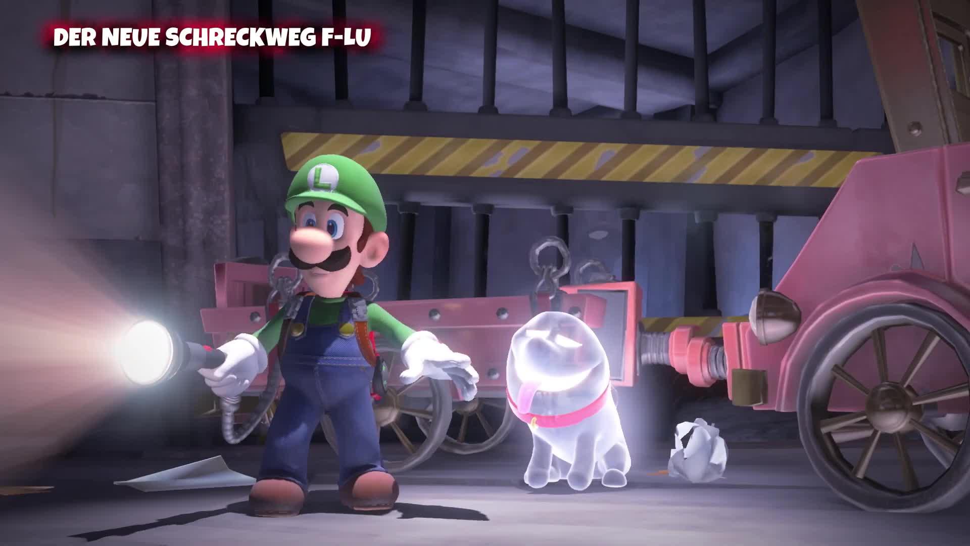 Trailer, Nintendo, Nintendo Switch, Luigi's Mansion 3, Luigi's Mansion